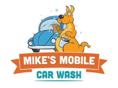 Mike carwash logo