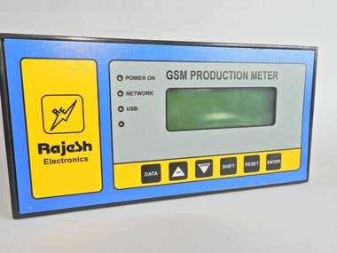 GSM based Production Meter