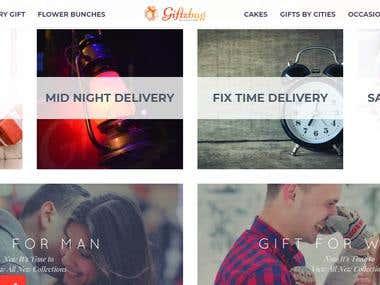 Online Gifts Portal | WordPress