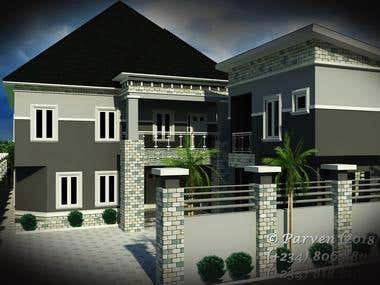 4 BEDROOM DUPLEX WITH GYM AND STUDY