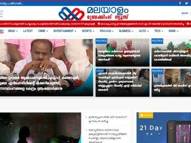 Online News Portal Website