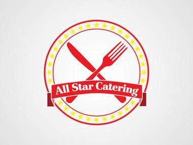 "Logo Design ""All Star Catering"""