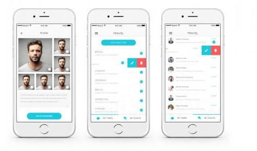 Fravel (Social Networking Tinder like App) | Freelancer