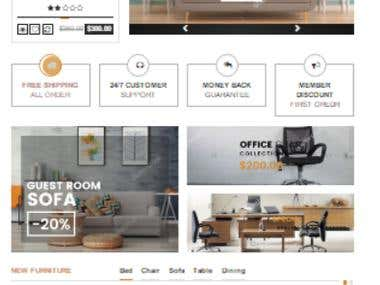 Furniture Shop Website