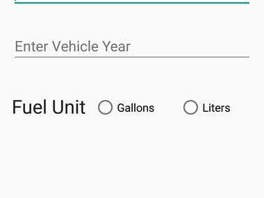 Car Maintenance App remainder