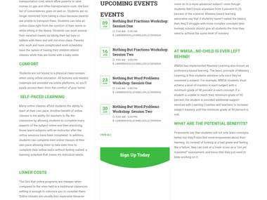 Coaching classes website