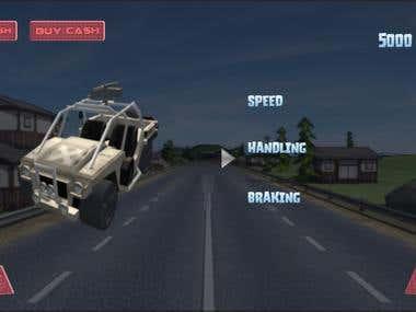Car Racer App