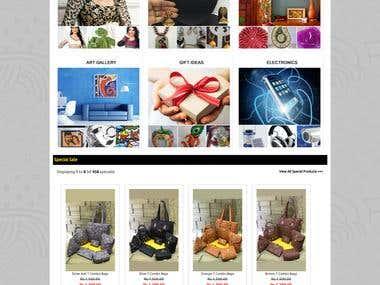 Online Shopping Store Website