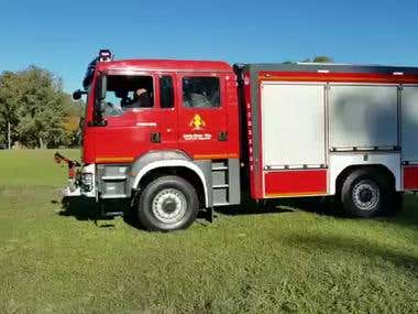 Example of Firetruck