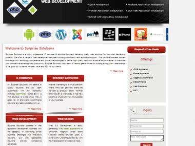 html design...