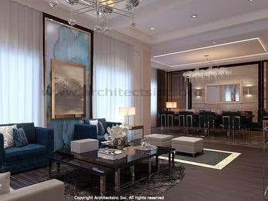 Interior design (Post Modern )