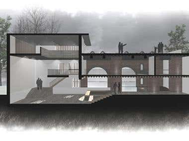 Artistic Architectural 2D Renderings