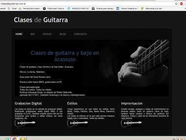 www.clasesdeguitarras.com.ar