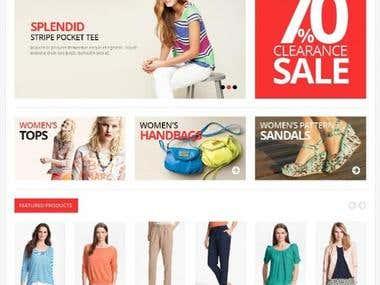Online Clothes Shop