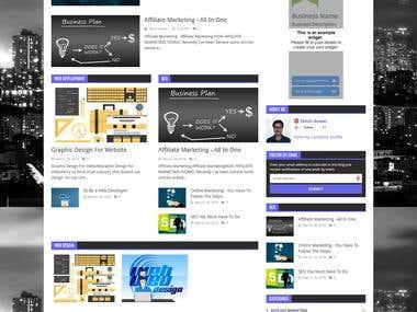 News portal Blog