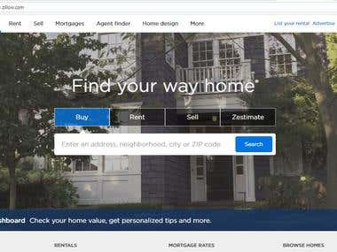 Contact details extractions from Zillow.com