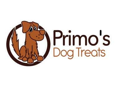 "Logo Design ""Primo's Dog Treats"""