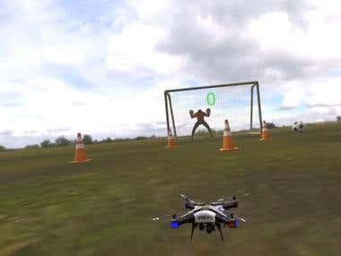 VR - Dron Trainer Using VR