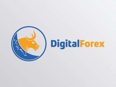 "Logo Design ""DigitalForex"""