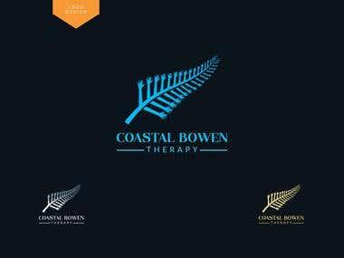 """""""Coastal Bowen Therapy"""" logo"""