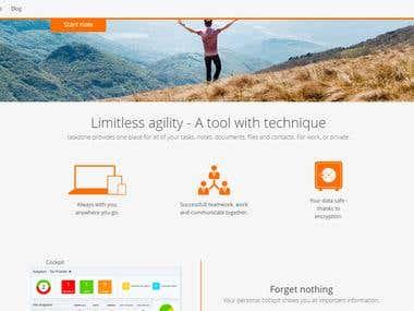 Taskzone - Laravel&Angular.js project