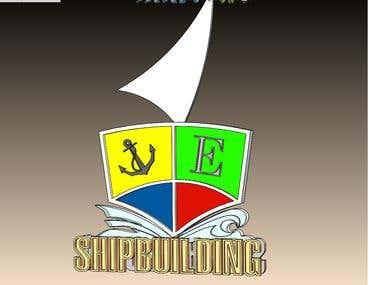 ship logo 3d