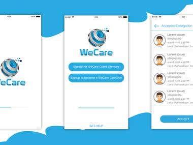 WeCare Service App