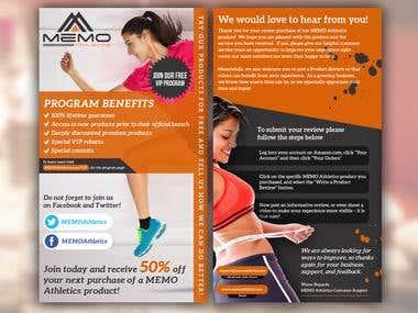 Women Fitness Brochure