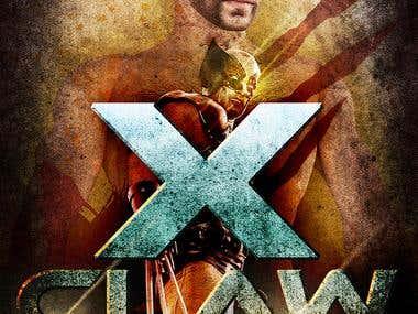 Movie Poster - X-CLAW - 40X27