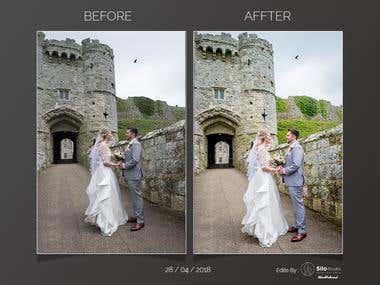 wedding photography editing