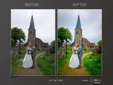 Photo editing / refine / Clean BG