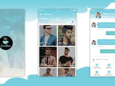 Social App for finding friends and getting in touch