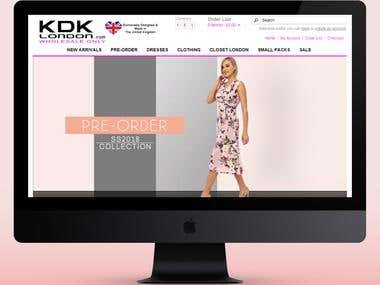 KDK London Online Store