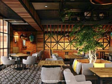 La Terrazza restaurant design