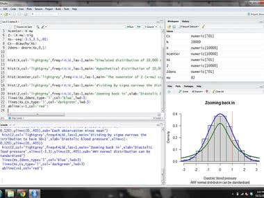 Statistics with R - Estadísticas con R