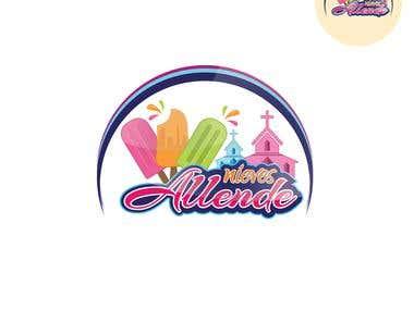 """Nieves Ice-cream"" Logo"