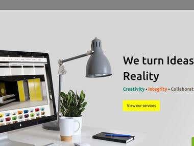 Full website development