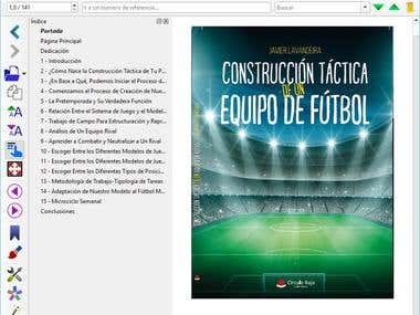 Spanish soccer ebook in epub format