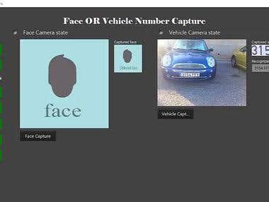 License plate number recognition system