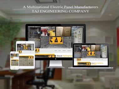 Taj Engineering Website