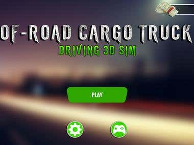 Of-Road Driving 3D Game UI