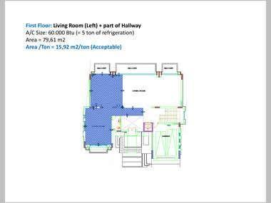 HVAC Technical Consultation for new Villas (Lebanon)