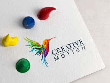Logo for my Design Studio CreativeMotion