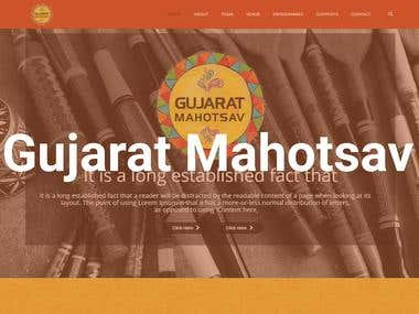 Gujarat Mahotsav | Web Development