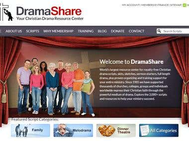Drama Resource Center Website
