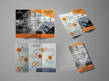 Flyer and Brochures Design