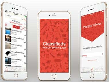 Classified app