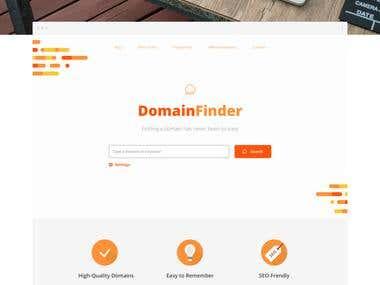 Domain Finder - Website
