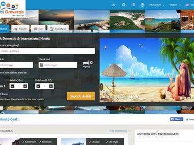 Online Booking website