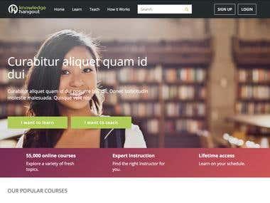 Online course services